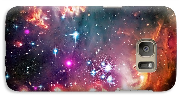 Magellanic Cloud 2 Galaxy S7 Case by Jennifer Rondinelli Reilly - Fine Art Photography