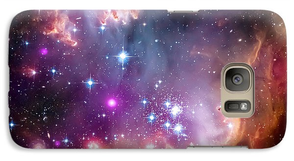 Magellanic Cloud 3 Galaxy S7 Case by Jennifer Rondinelli Reilly - Fine Art Photography