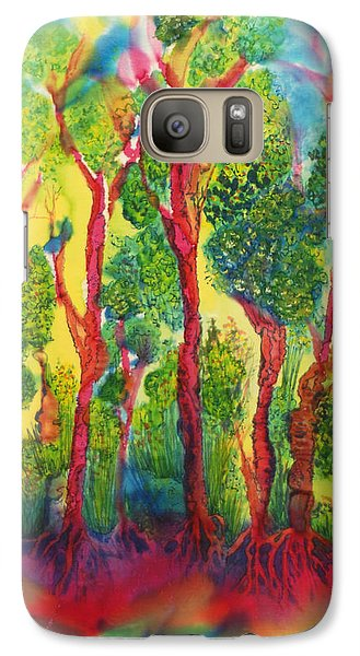 Galaxy Case featuring the painting Appreciation by Susan D Moody