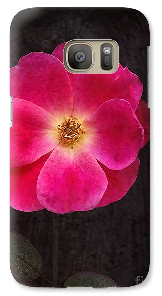 Galaxy Case featuring the photograph Magenta Mood by Kathi Mirto