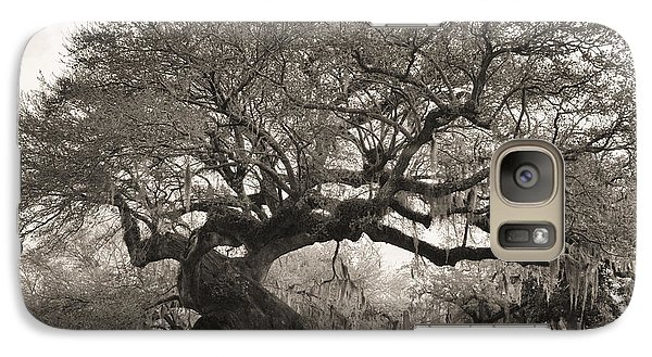 Galaxy Case featuring the photograph Magestic And Aged by Phyllis Peterson
