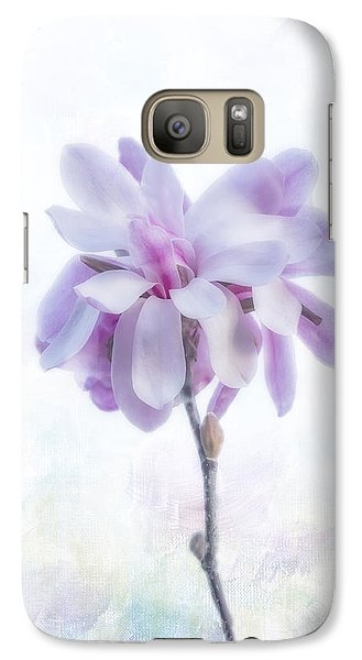 Galaxy Case featuring the photograph Maggie by Elaine Teague