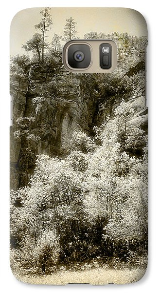 Galaxy Case featuring the photograph Magic Cliffs Outside Sedona by Dave Garner