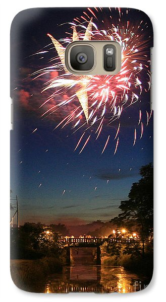 Galaxy Case featuring the photograph Magic In The Sky by Paula Guttilla