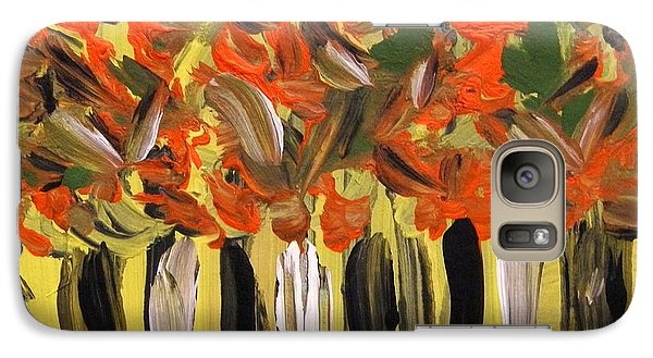 Galaxy Case featuring the painting Magic In The Woods by Mary Carol Williams