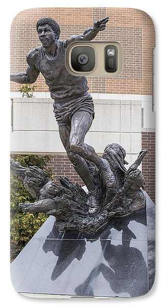 Magic Johnson Statue At Breslin  Galaxy S7 Case by John McGraw