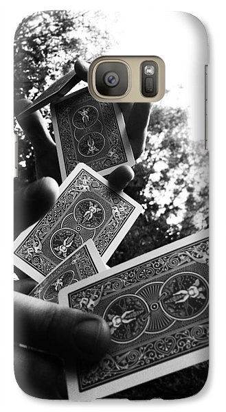 Galaxy Case featuring the photograph Magic by Lucy D
