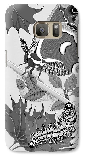 Galaxy Case featuring the digital art Magic Pencil by Carol Jacobs