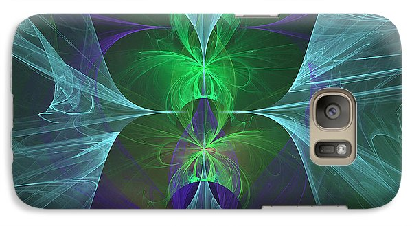 Galaxy Case featuring the digital art Magic Symbol by Ursula Freer