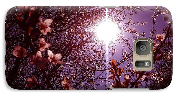 Galaxy Case featuring the photograph Magical Blossoms by Vicki Spindler