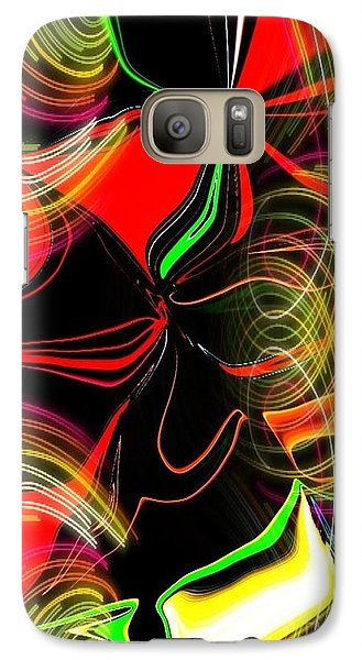 Galaxy Case featuring the digital art Magical Flow by Gayle Price Thomas