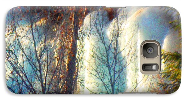 Galaxy Case featuring the photograph Magical Ice Wall I by Anastasia Savage Ealy
