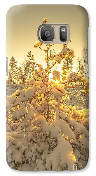 Galaxy Case featuring the photograph Magical Moments In The Middle Of January by Rose-Maries Pictures
