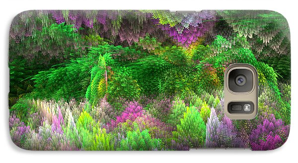 Galaxy Case featuring the digital art Magical Mystery Woods by Svetlana Nikolova