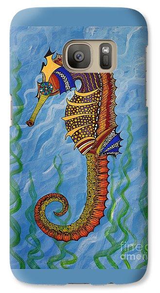 Magical Seahorse Galaxy S7 Case by Suzette Kallen