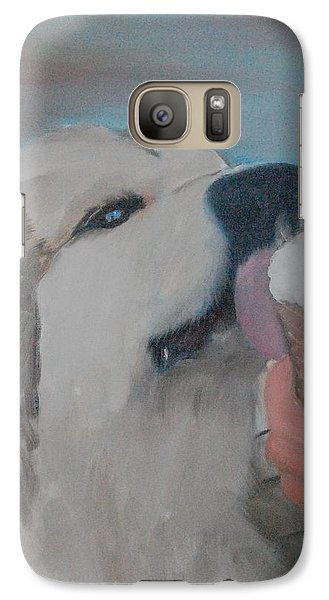 Galaxy Case featuring the painting Magick In Summerland by Kristen R Kennedy