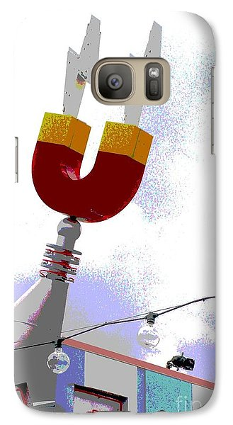 Galaxy Case featuring the digital art Magnetic by Valerie Reeves