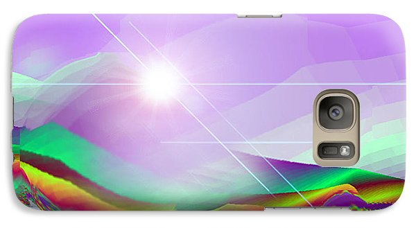Galaxy Case featuring the digital art Magnification by Ute Posegga-Rudel
