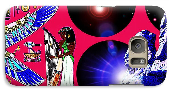 Galaxy Case featuring the painting Magnificent  Egypt by Hartmut Jager