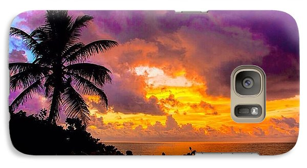 Galaxy Case featuring the photograph Magnificent Sunrise by Don Durfee