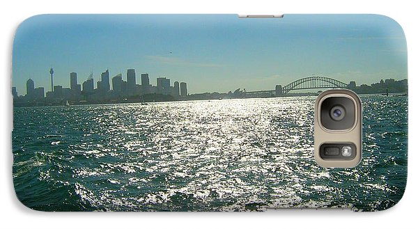 Galaxy Case featuring the photograph Magnificent Sydney Harbour by Leanne Seymour