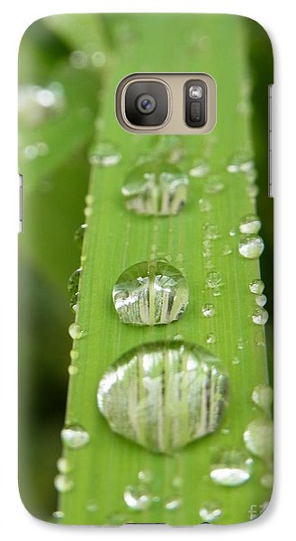 Galaxy Case featuring the photograph Magnifying  by Agnieszka Ledwon