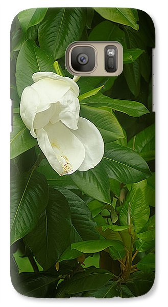 Galaxy Case featuring the photograph Magnolia 1 by Suzanne Powers
