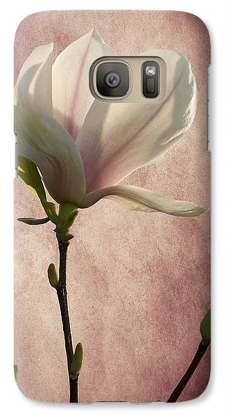 Galaxy Case featuring the photograph Magnolia by Ann Lauwers