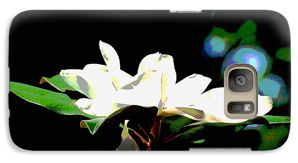 Galaxy Case featuring the photograph Magnolia Blossom by Linda Cox