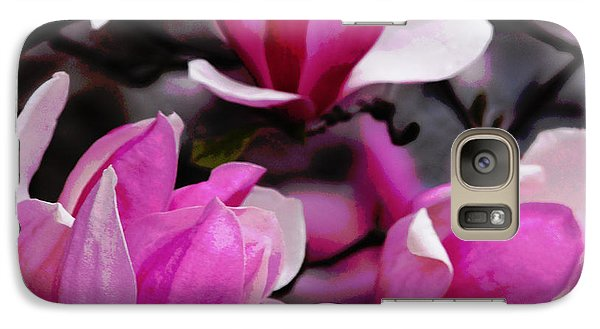 Galaxy Case featuring the photograph Magnolia Blossoms by Olivia Hardwicke