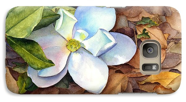 Galaxy Case featuring the painting Magnolia by Bonnie Rinier