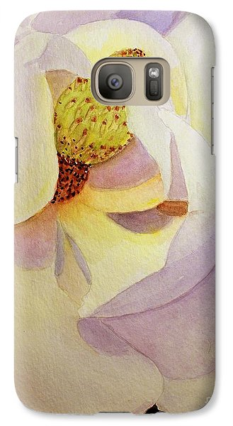 Galaxy Case featuring the painting Magnolia by Carol Grimes