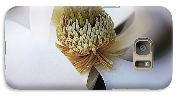 Galaxy Case featuring the photograph Magnolia Close Up by John S