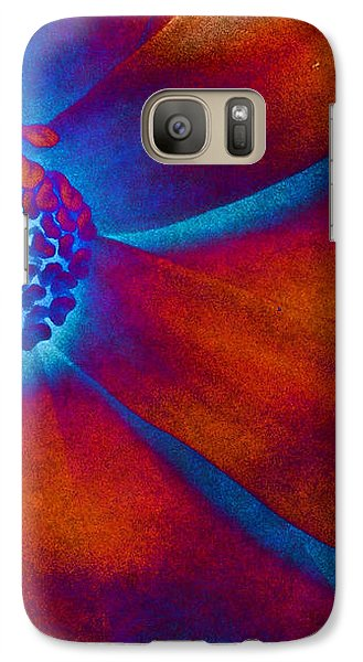 Galaxy Case featuring the photograph Magnolia Electric by Susan Maxwell Schmidt