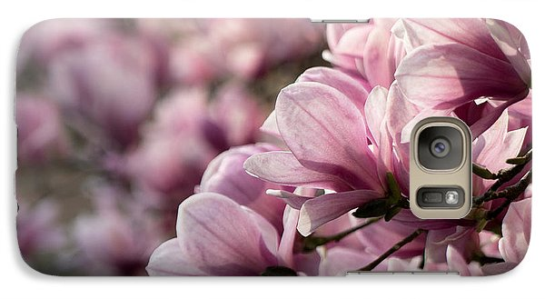 Galaxy Case featuring the photograph Magnolia Layers 2 by Rob Amend