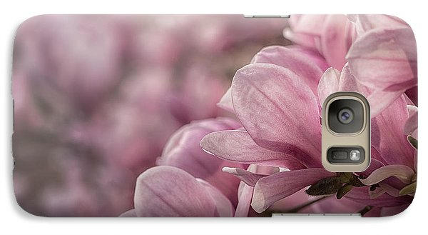 Galaxy Case featuring the photograph Magnolia Layers by Rob Amend