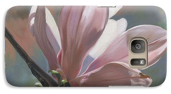 Galaxy Case featuring the painting Magnolia Petals by Alecia Underhill