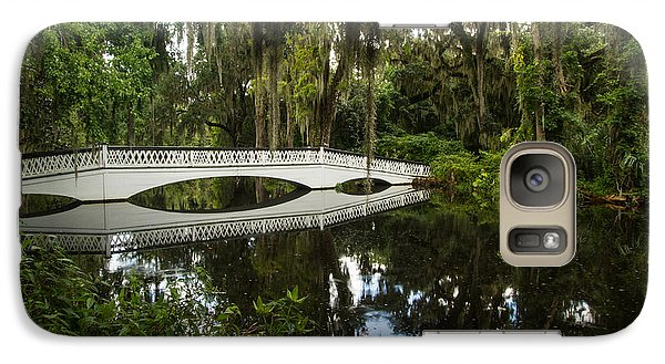 Galaxy Case featuring the photograph Magnolia Plantation And Gardens by Doug McPherson