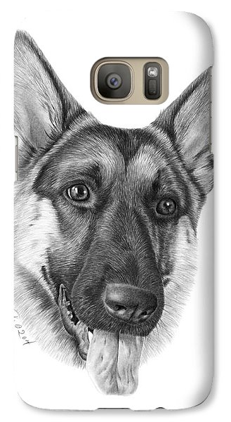 Galaxy Case featuring the photograph Magnus - 037 by Abbey Noelle