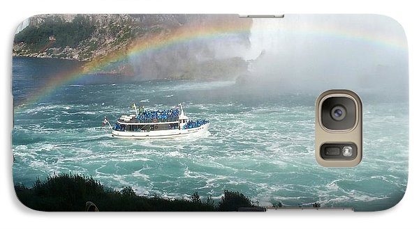 Galaxy Case featuring the photograph Maid Of The Mist -41 by Barbara McDevitt
