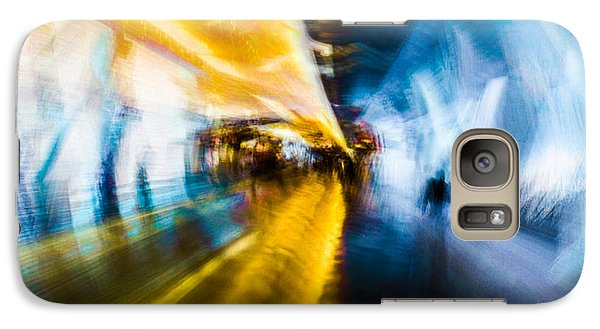 Galaxy S7 Case featuring the photograph Main Access Tunnel Nyryx Station by Alex Lapidus
