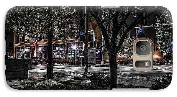 Galaxy Case featuring the photograph Main Street by Ray Congrove