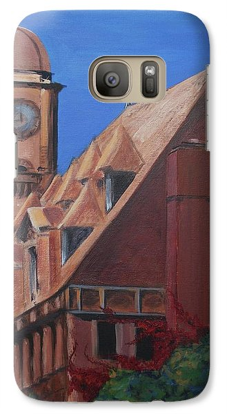 Galaxy Case featuring the painting Main Street Station by Donna Tuten