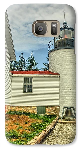 Galaxy Case featuring the photograph Maine Lighthouse by Raymond Earley