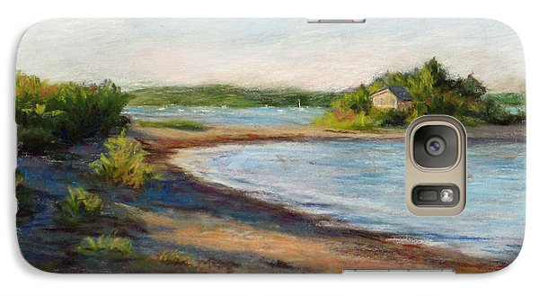 Galaxy Case featuring the painting Maine Quiet Bay by Vikki Bouffard