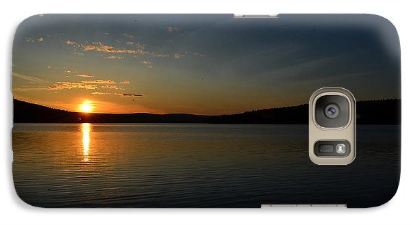 Galaxy Case featuring the photograph Maine Sunset by James Petersen