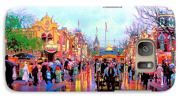 Galaxy Case featuring the photograph Mainstreet Disneyland by David Lawson