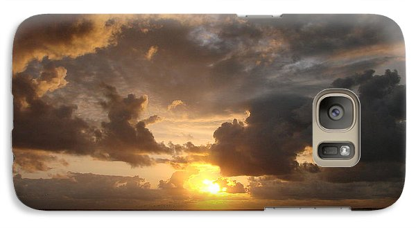 Galaxy Case featuring the photograph Majestic Sunset by Athena Mckinzie