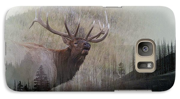 Galaxy Case featuring the photograph Majestic Elk by Clare VanderVeen