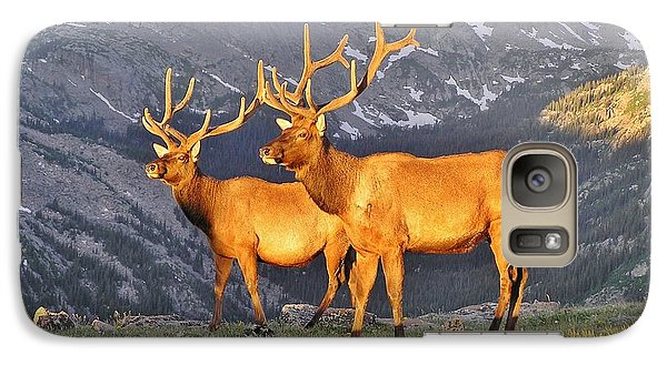 Galaxy Case featuring the photograph Majestic Elk by Diane Alexander